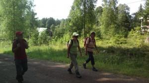 Glada vandrare